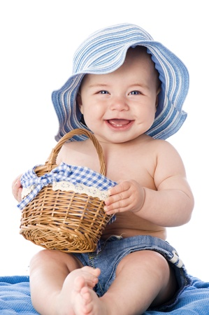 laughing baby: Sweet baby
