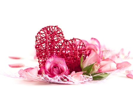 Romance background photo