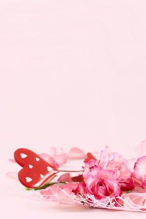 Romance background Stock Photo