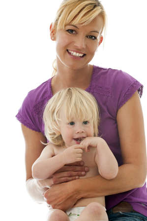 Mother with child photo