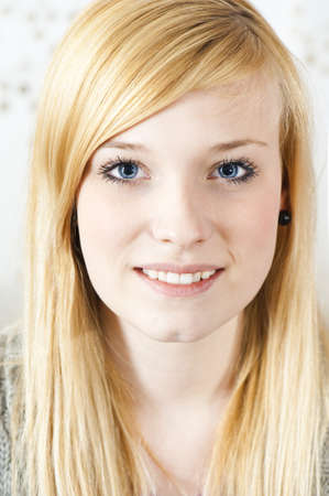 zest for life: Pretty young woman Stock Photo
