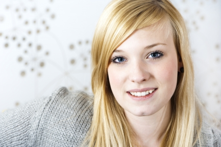 personable: Pretty young woman Stock Photo