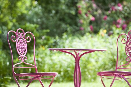 Garden furniture photo