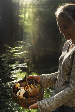 In the forest photo