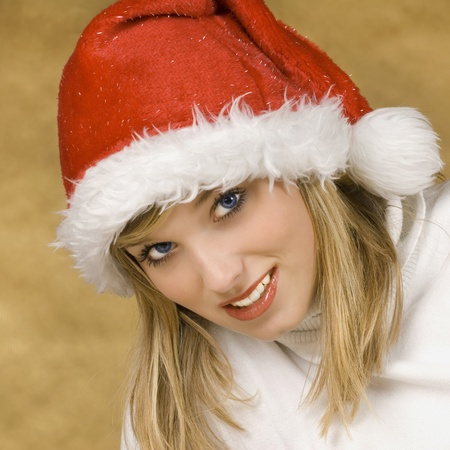 Christmas girl Stock Photo - 15442164