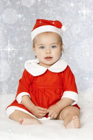 Sweet christmas baby Stock Photo - 16005477