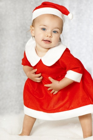 Sweet christmas baby Stock Photo - 16005460
