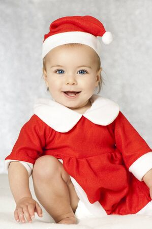 Sweet christmas baby Stock Photo - 16005478
