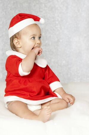 Sweet christmas baby Stock Photo - 16005457
