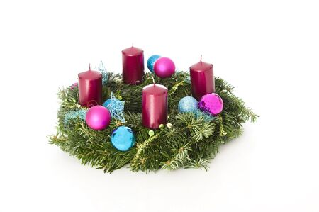 Advent wreath photo