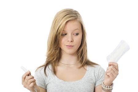 Sanitary or tampon