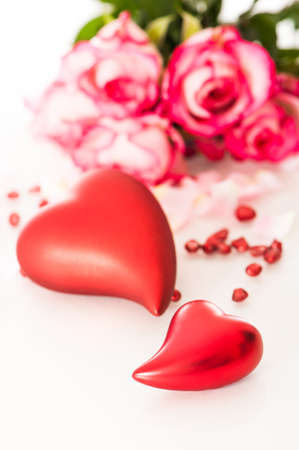 Red hearts Stock Photo - 17982606