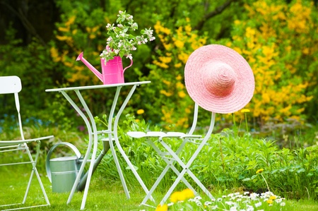 Garden idyll Stock Photo - 19668024