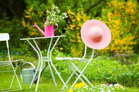 Garden idyll Stock Photo - 19668024