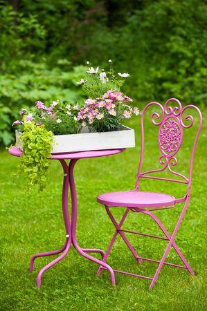 idyll: Garden idyll