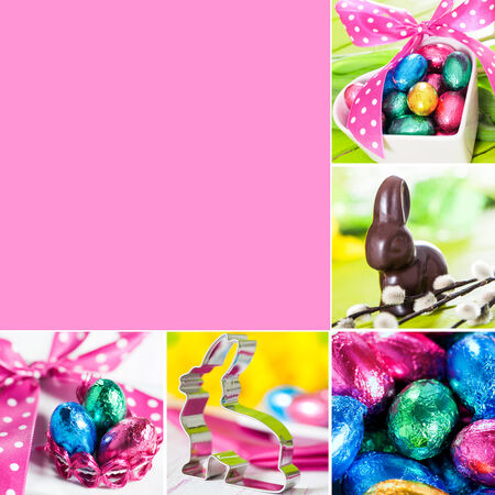 Easter collage photo