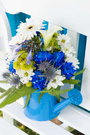 Small bouquet with different flowers
