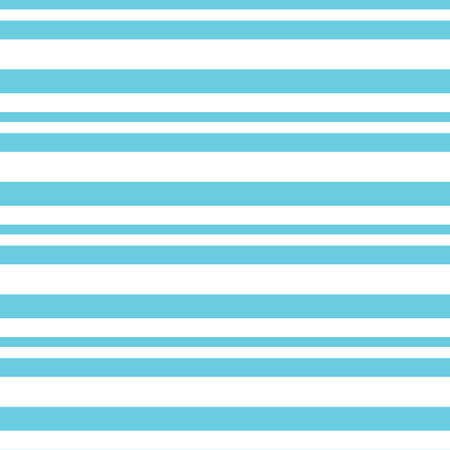 Seamless vector horizontal vintage stripe pattern in sky blue with a white background. Repeat monochrome design element for surface pattern design.