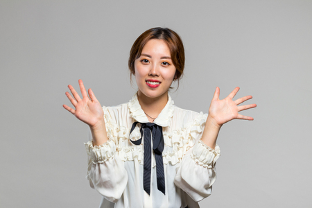 Woman Adult Asian Smile Happy Concept