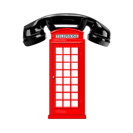 Telephone box and handset photo