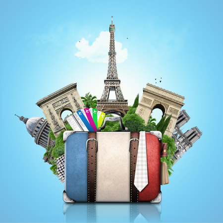 Holiday in France Stock Photo