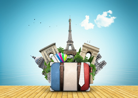 France travel place vector