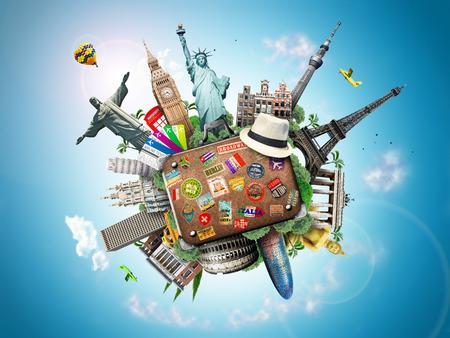 travel bag: Travel Stock Photo