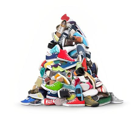 Buty sportowe Zdjęcie Seryjne