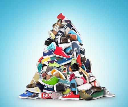 Zapatos deportivos Foto de archivo - 33982135