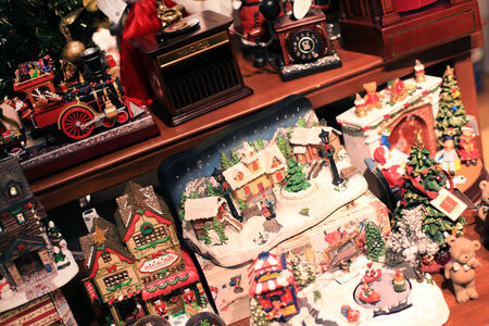 toy shop: Christmas toys