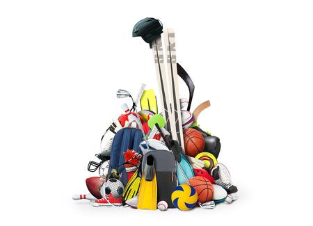 balones deportivos: Equipamiento deportivo