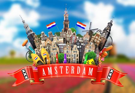 Amsterdam Reklamní fotografie - 39265337