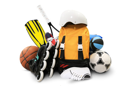 the equipment: Sports equipment