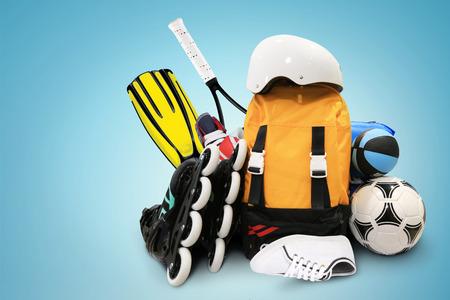 Sportger?te Standard-Bild - 39266190