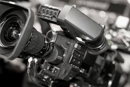 tv: Caméra vidéo pour les professionnels, la nouvelle technologie vidéo Banque d'images