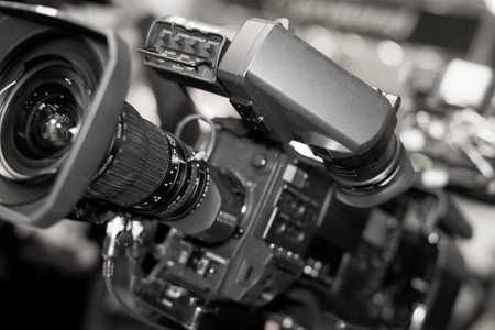 Video camera for professionals, the new video technology