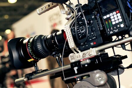 tv camera: Video camera for professionals, the new video technology