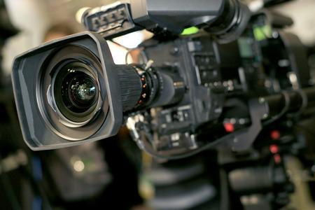 전문가를위한 비디오 카메라, 새로운 비디오 기술 스톡 콘텐츠 - 43689610