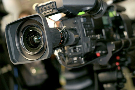 camera operator: Video camera for professionals, the new video technology