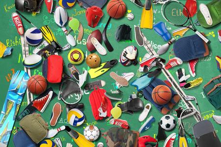 futbol infantil: Gimnasio