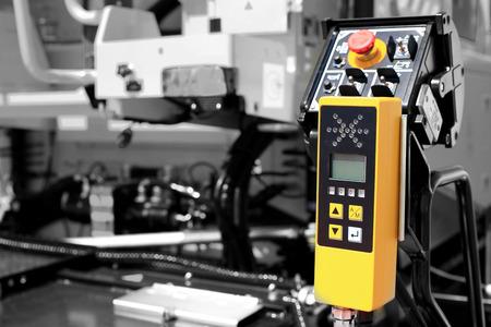 maquinaria: Panel de las autoridades en todos los niveles de la máquina en la fábrica