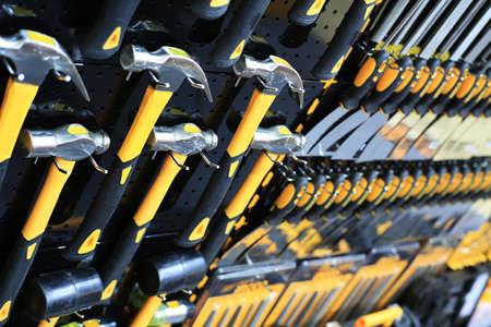 work tools: martillo Foto de archivo
