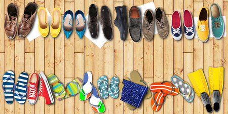 office shoes: Summer holidays, office shoes colored flip flops, travel
