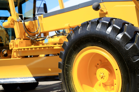 construction machinery: New tractor, industry engineering and construction machinery