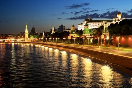 ロシア、モスクワのクレムリンの美しい景色