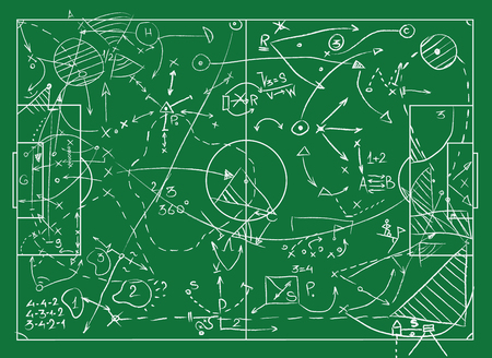 Coaching Board for game tactics and strategies