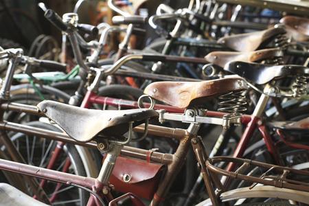 Urban retro bicycle 写真素材 - 120739157
