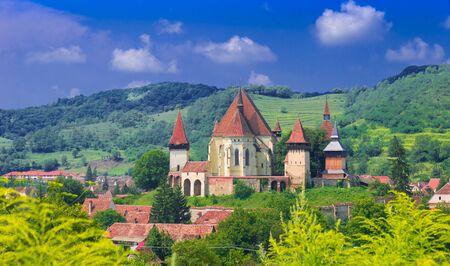 biertan: Fortified church Biertan in Transylvania, Romania.