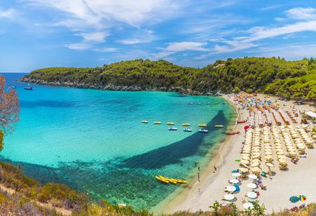 livorno: Fetovaia beach, Elba Island, Tuscany, Italy.