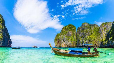 Maya bay at Phi Phi Leh island, Thailand